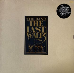 Band (The) ‎-  The Last Waltz (LP) (VG-/G+)